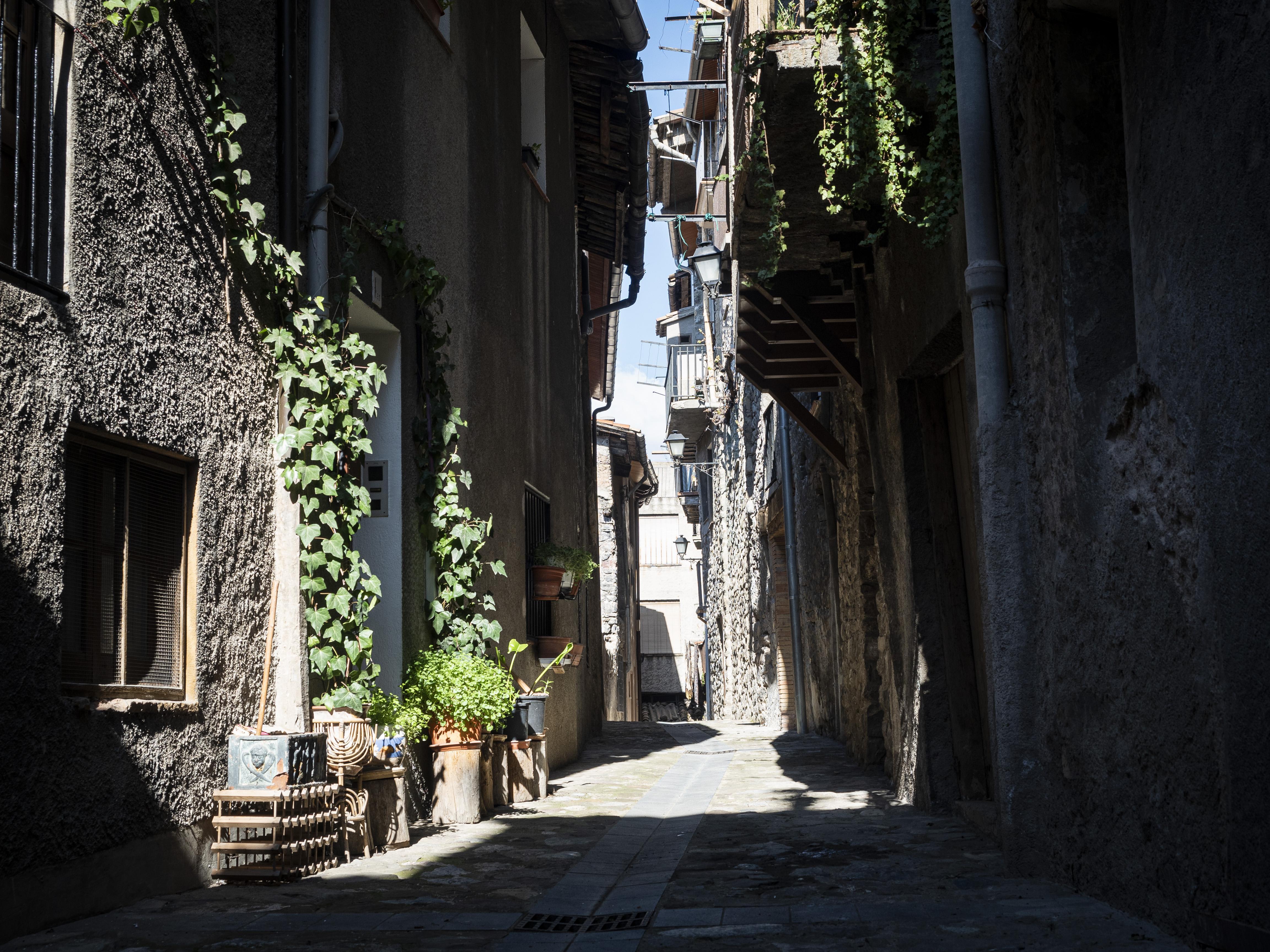 Carrers del municipi de Bagà. FOTO: Anna E. Puig