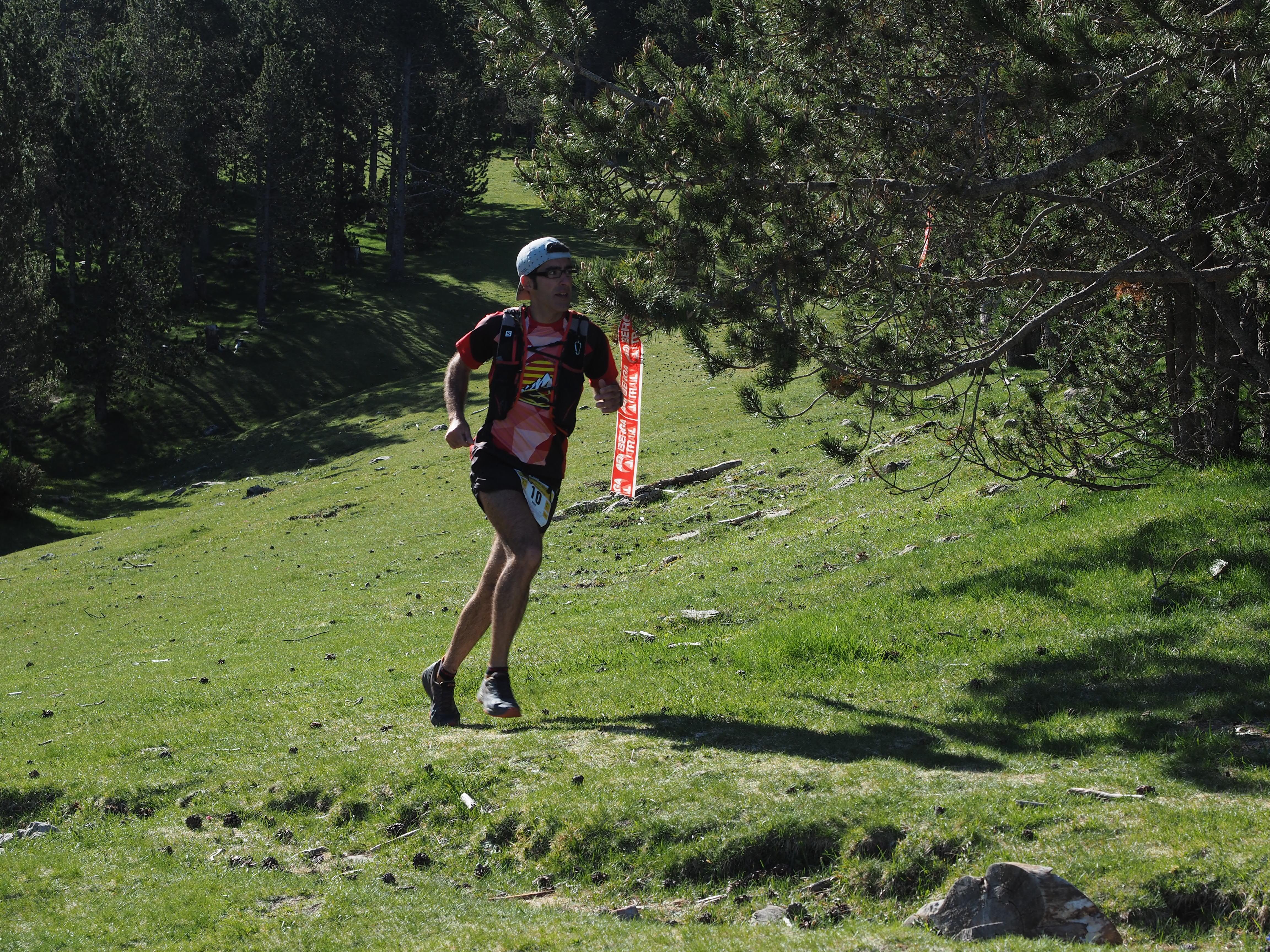La Berga Trail al seu pas pels de Rasos de Peguera. FOTO: Anna E. Puig