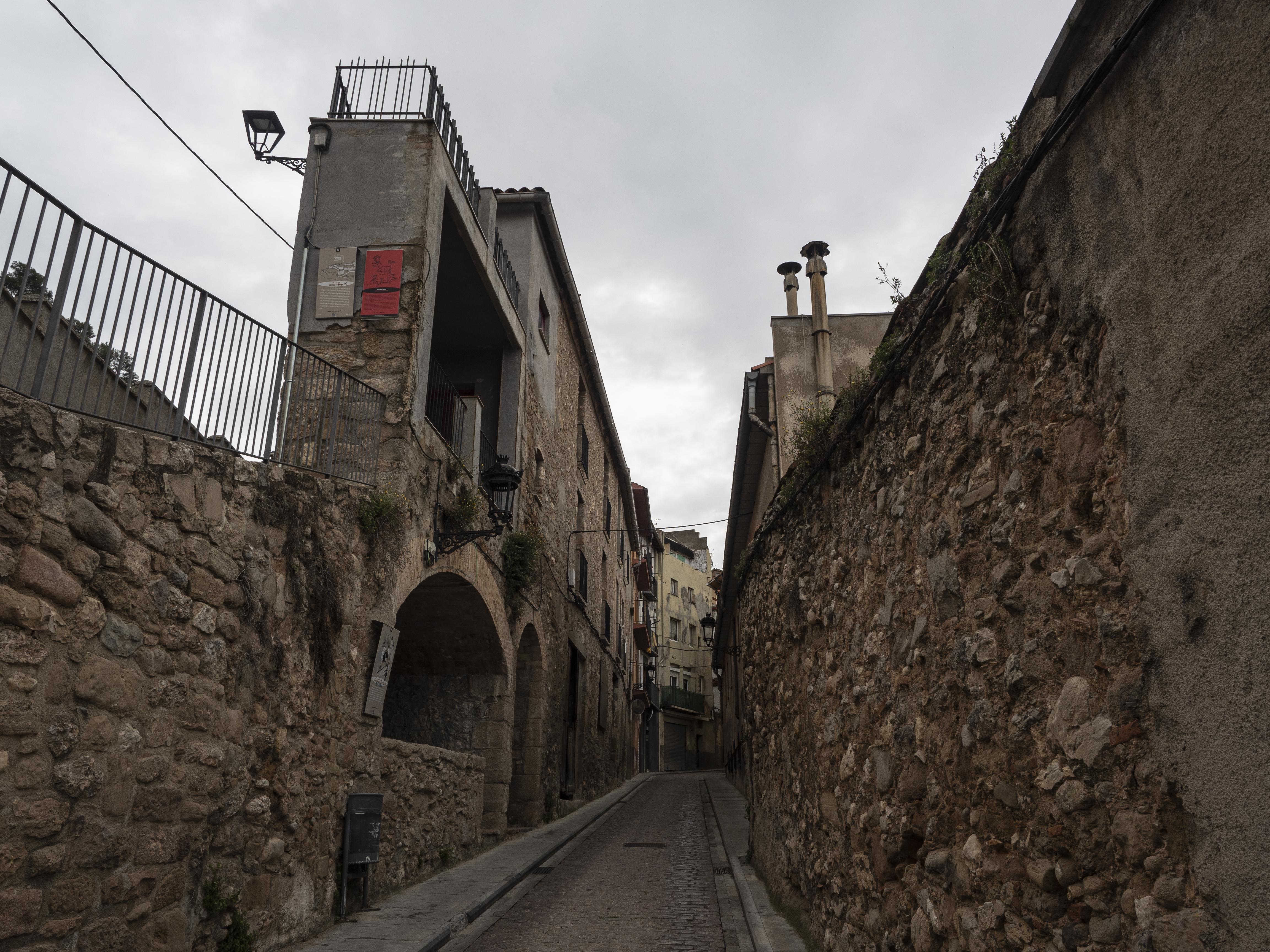 Carrers del barri de la Pietat. FOTO: Anna E. Puig