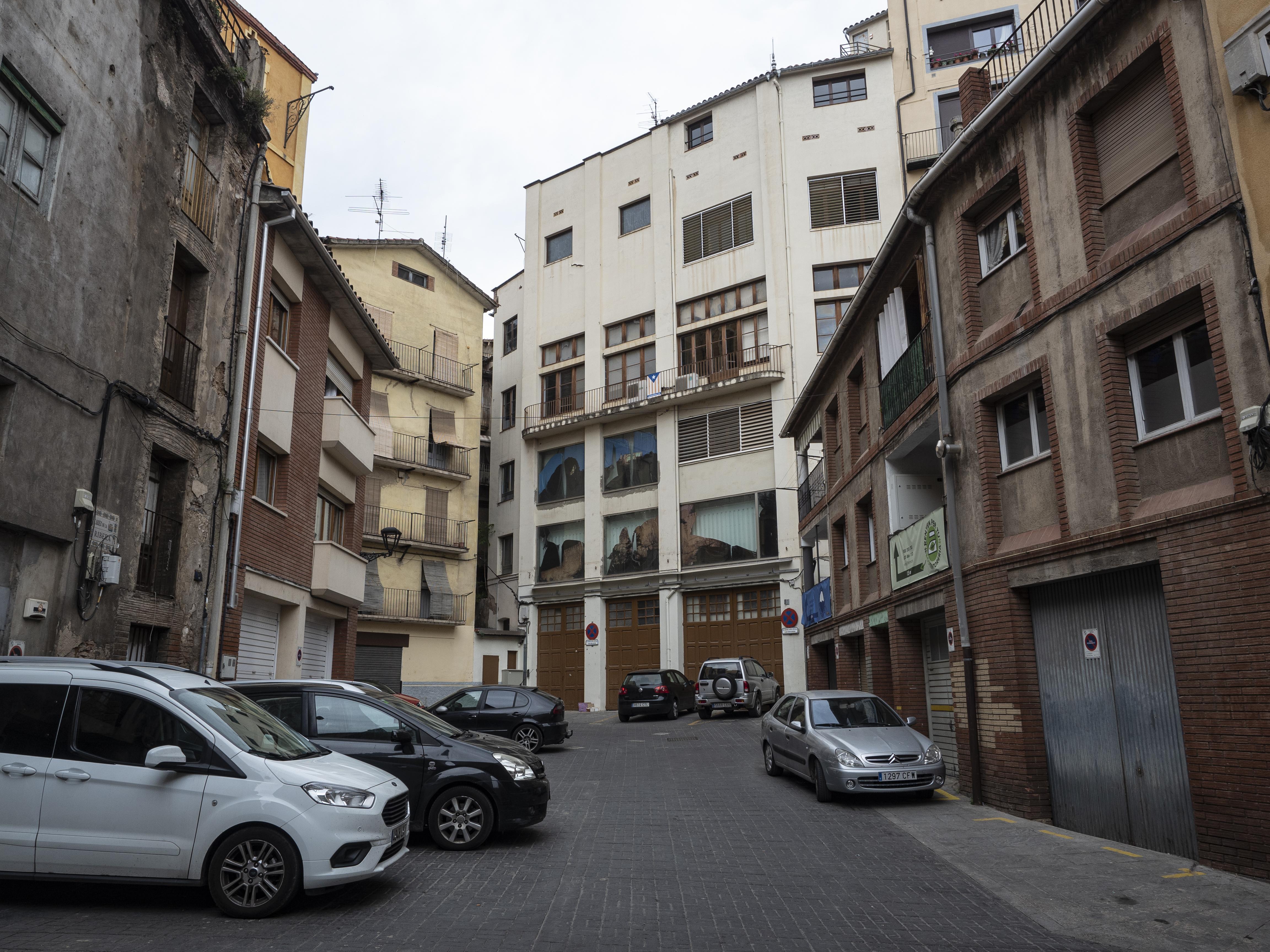 La Plaça de la Ribera es transforma completament durant els dies de Corpus. FOTO: Anna E. Puig