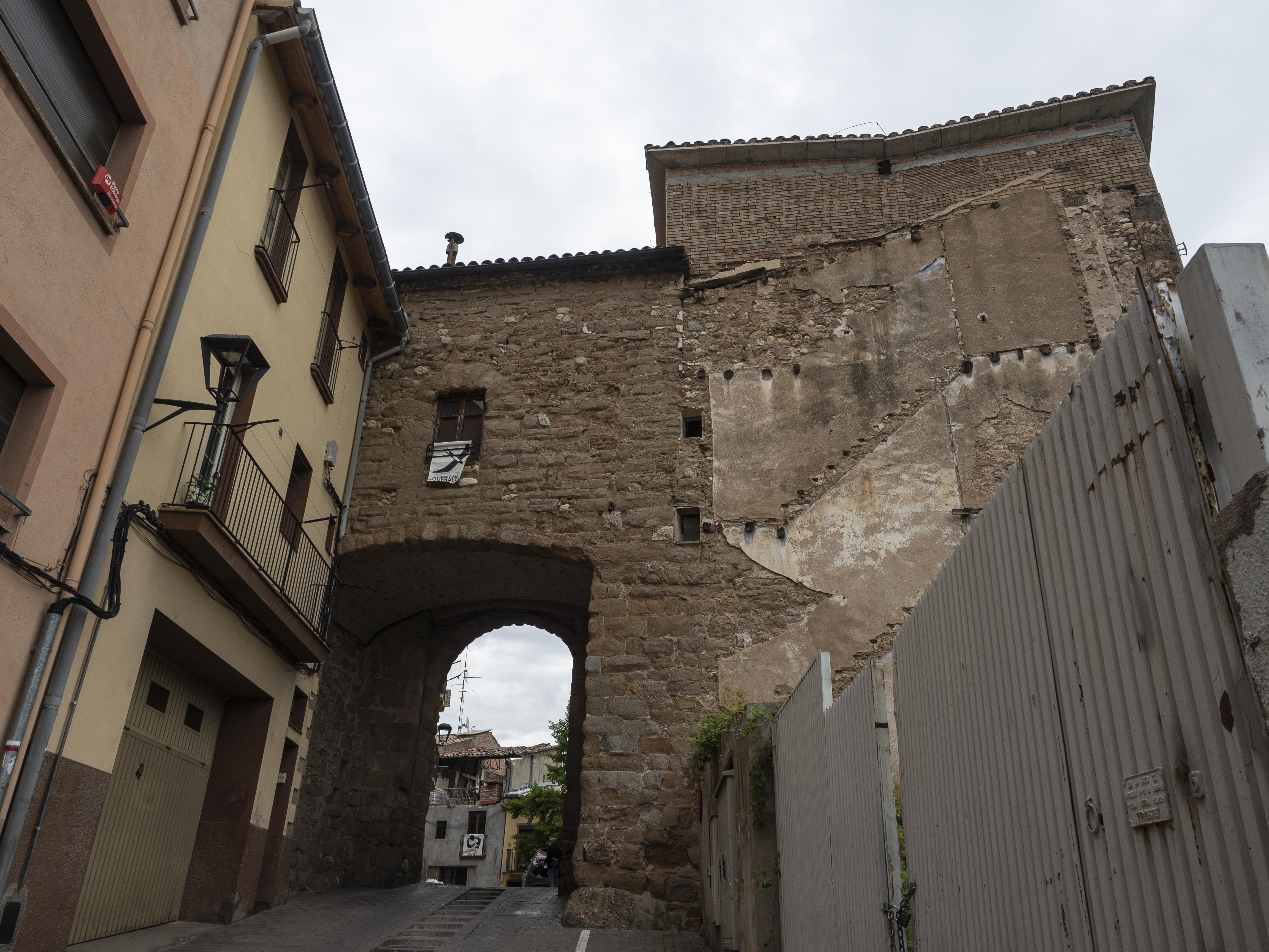 Portal de Santa Magdalena. FOTO: Anna E. Puig