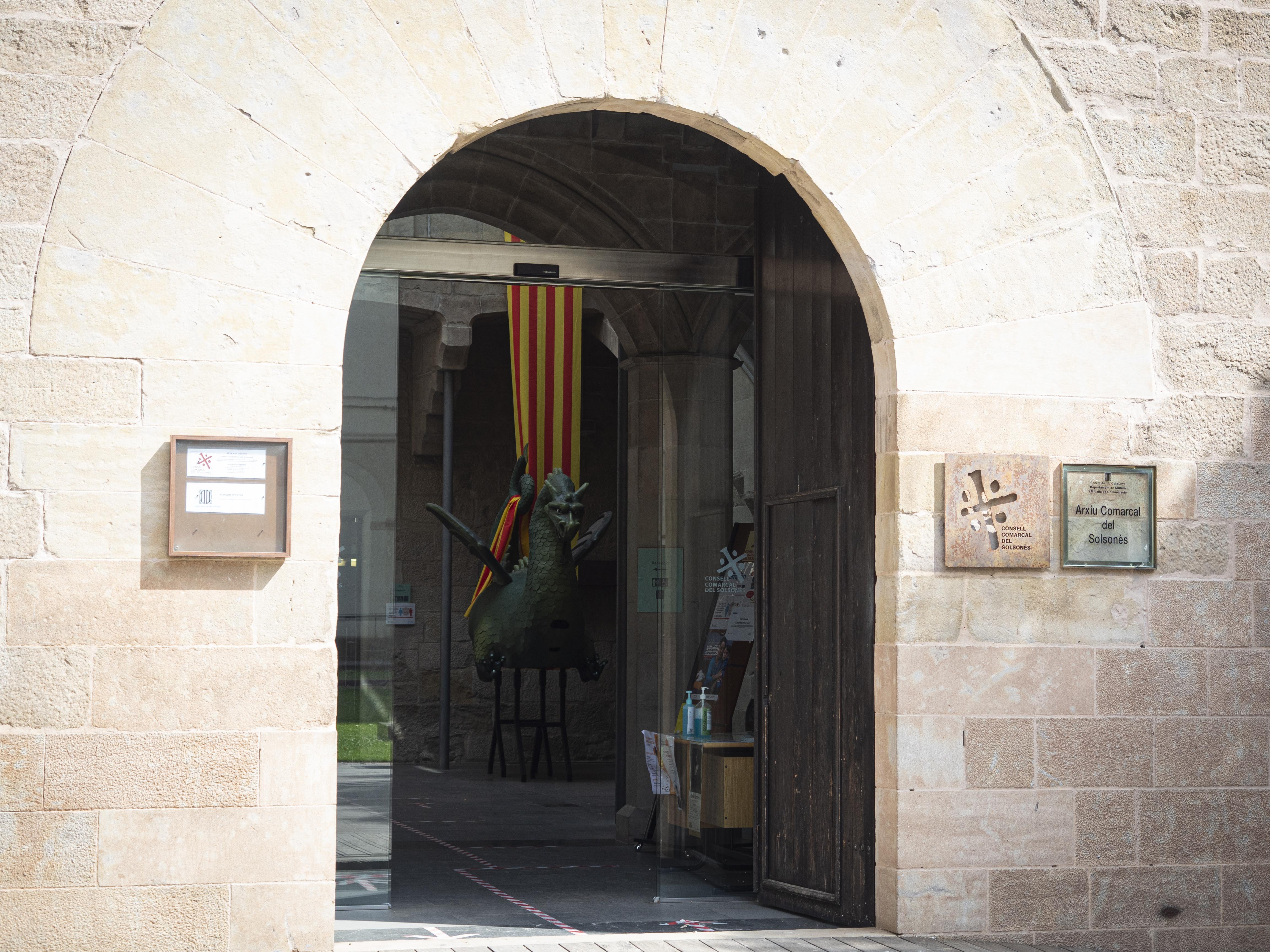 El Palau Llobera acull el Consell Comarcal del Solsonès i també l'Arxiu Comarcal. FOTO: Anna E. Puig