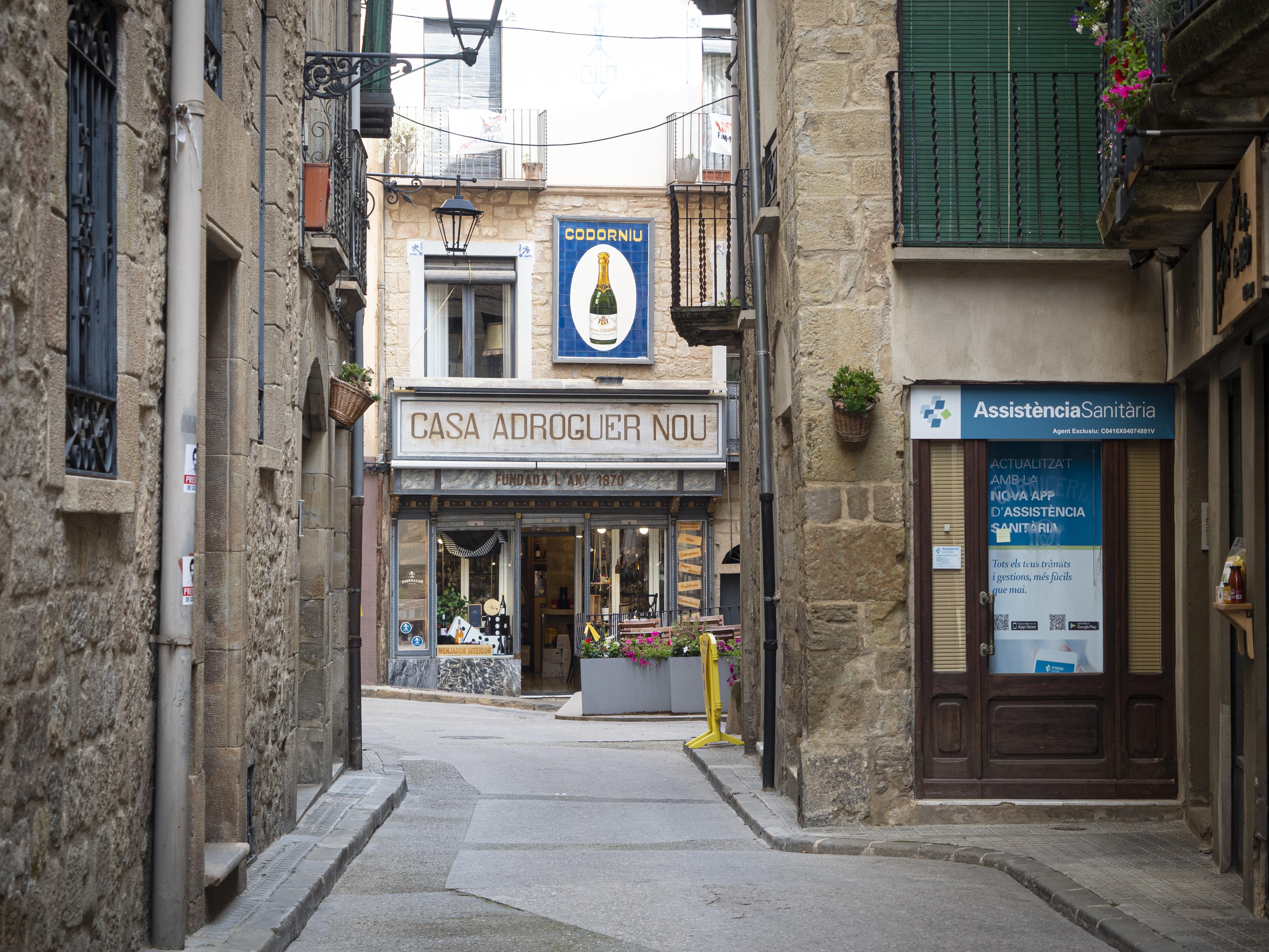 Els carrers de Solsona amaguen petites joies a cada racó. FOTO: Anna E. Puig
