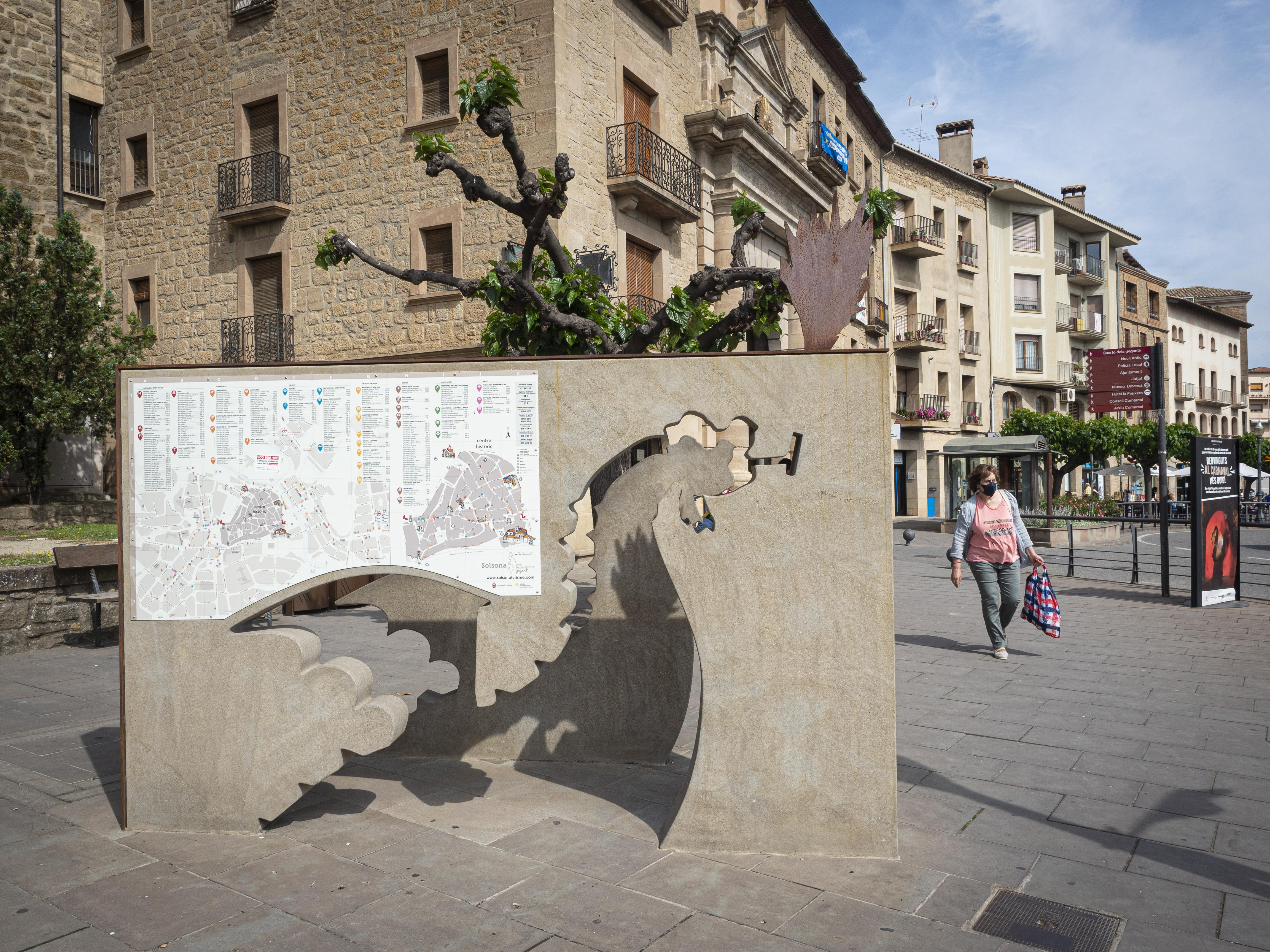 Carrers de Solsona. FOTO: Anna E. Puig