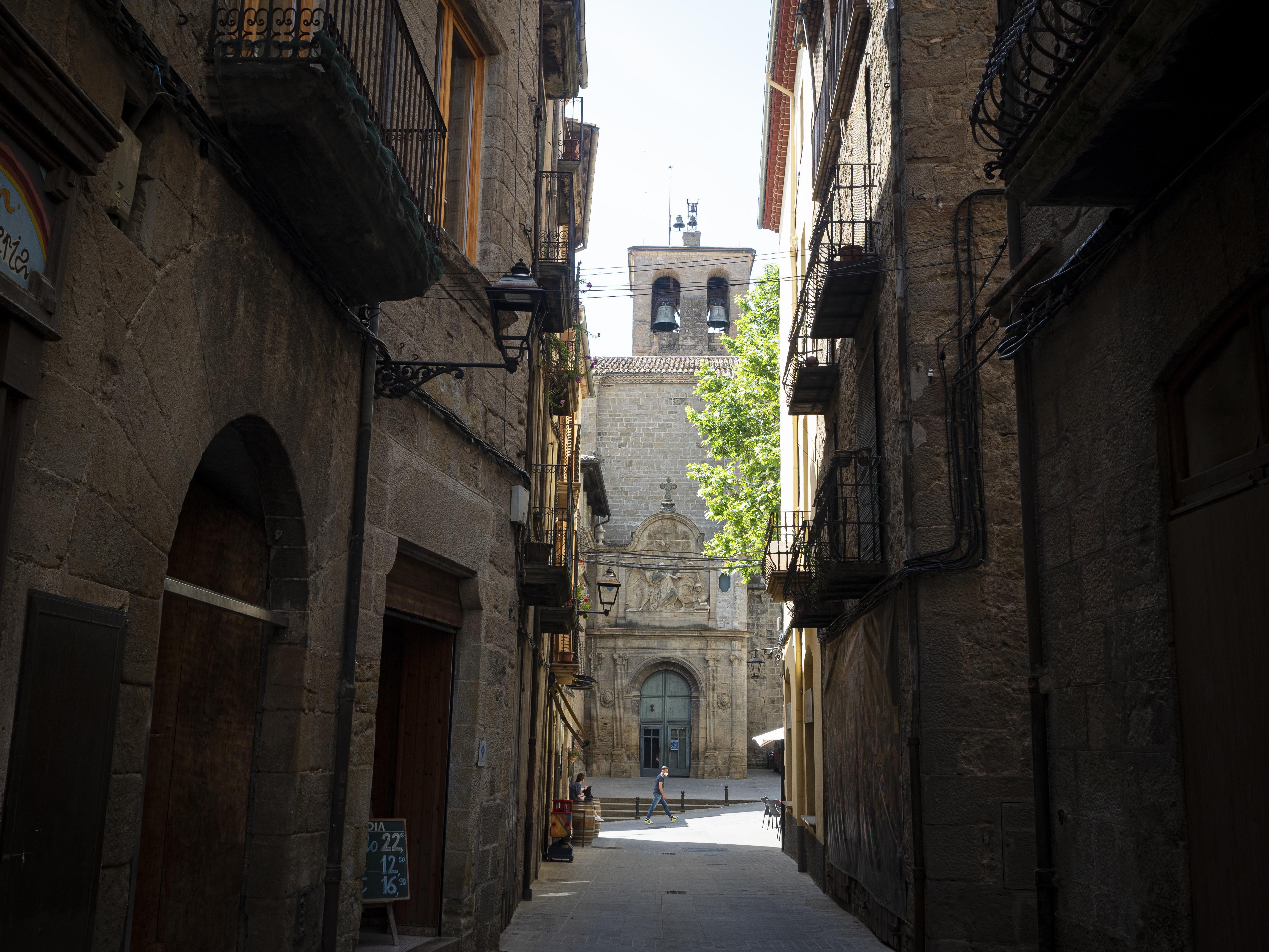 Una de les façanes de la catedral de Solsona. FOTO: Anna E. Puig