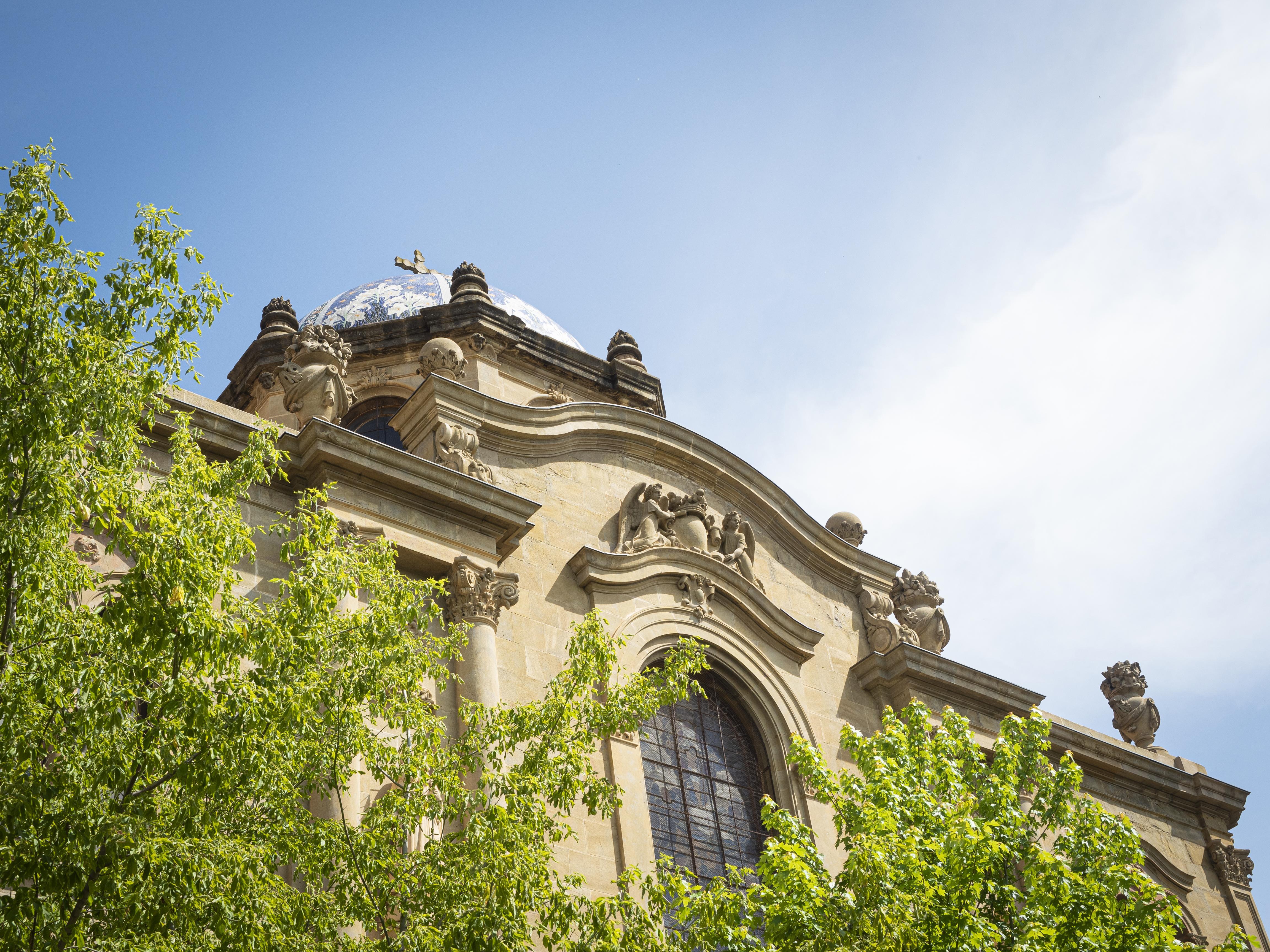 Una de les façanes de la catedral solsonina. FOTO: Anna E. Puig