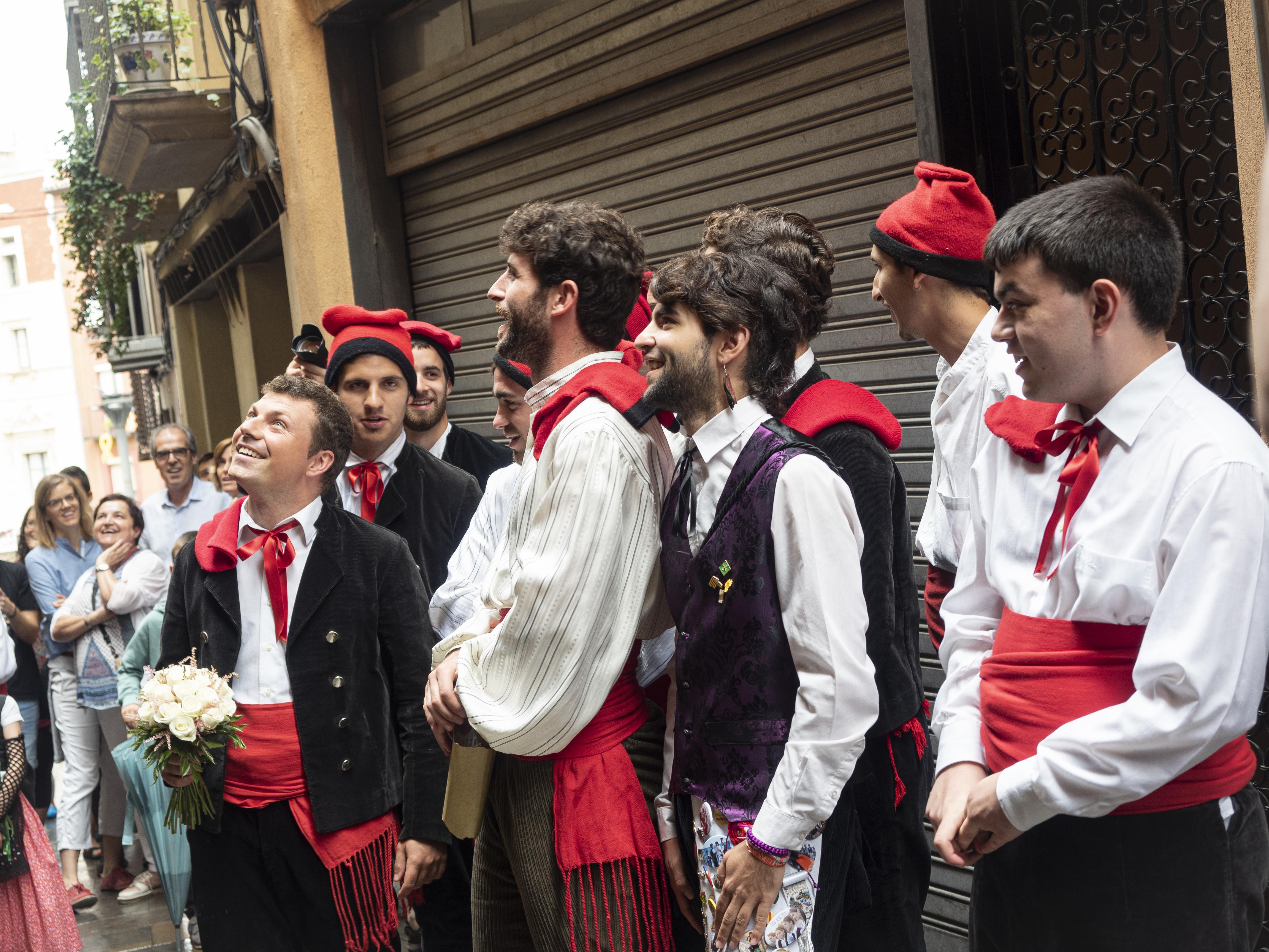 L'Agrupació Teatral la Farsa és l'encarregada de la recreació d'una boda típica de l'Alt Berguedà. FOTO: Anna E. Puig
