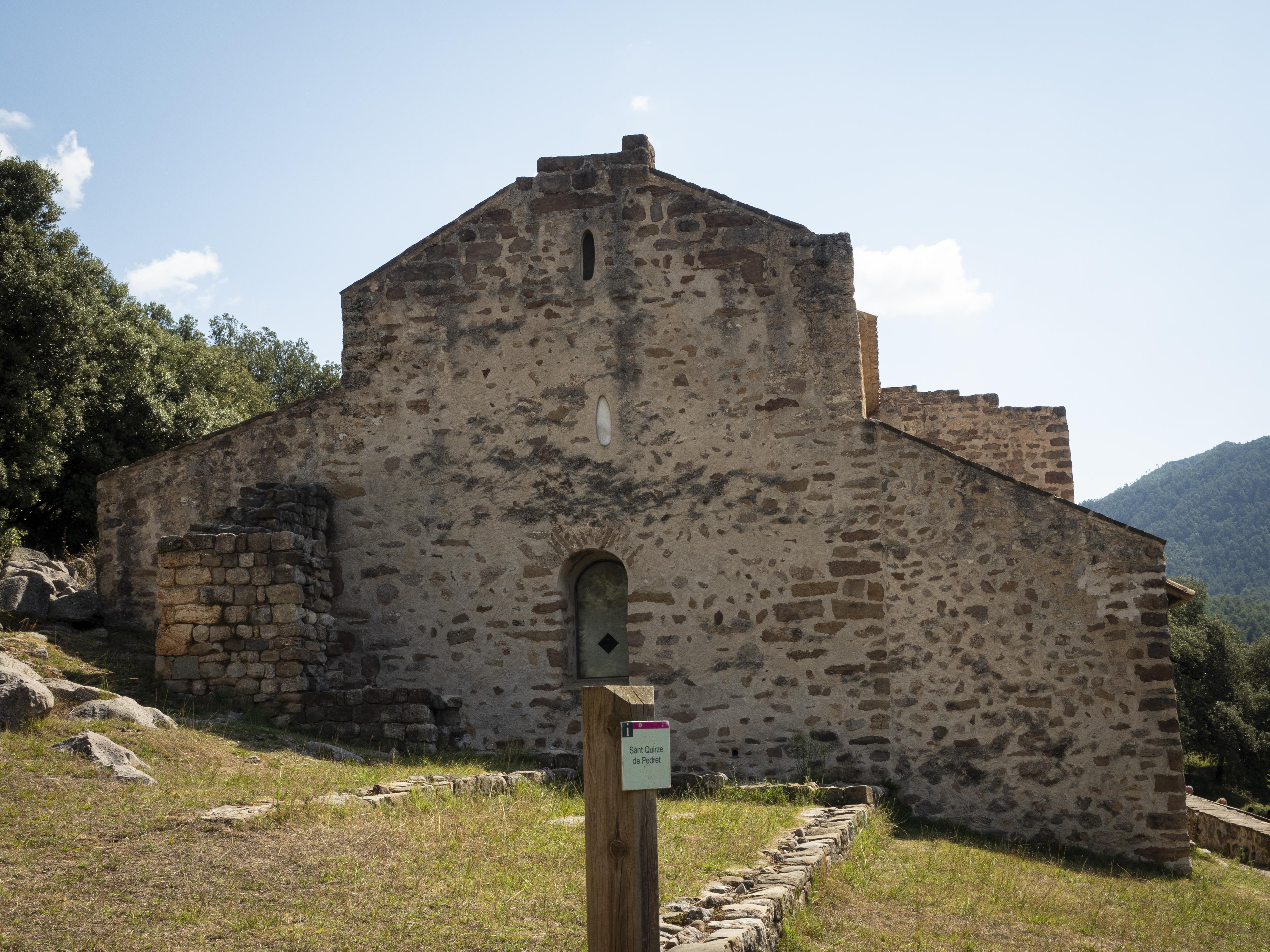 Església de Sant Quirze de Pedret. FOTO: Anna E. Puig