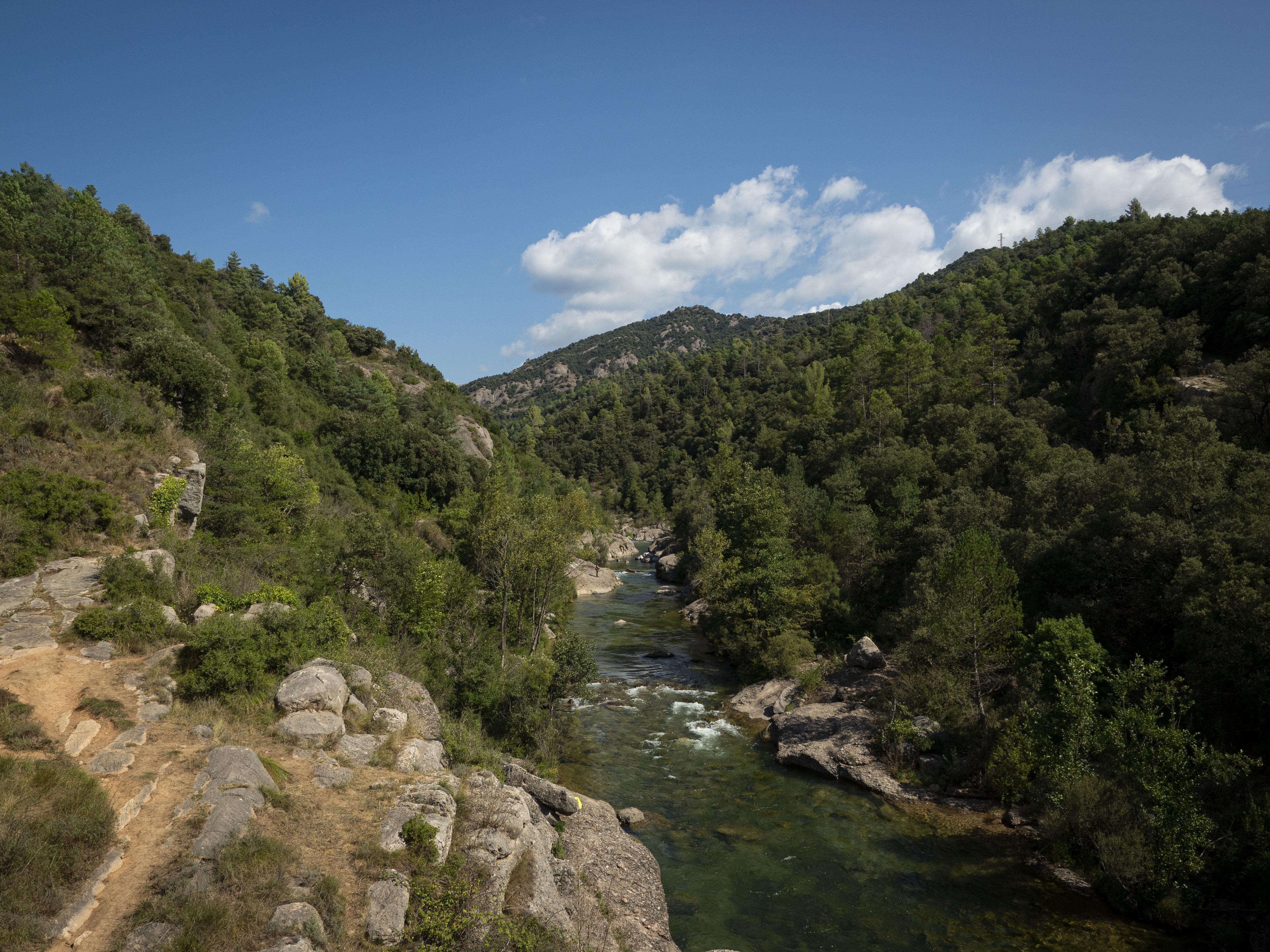 Punt de la Via Verda de Cal Rosal a Pedret. FOTO: Anna E. Puig