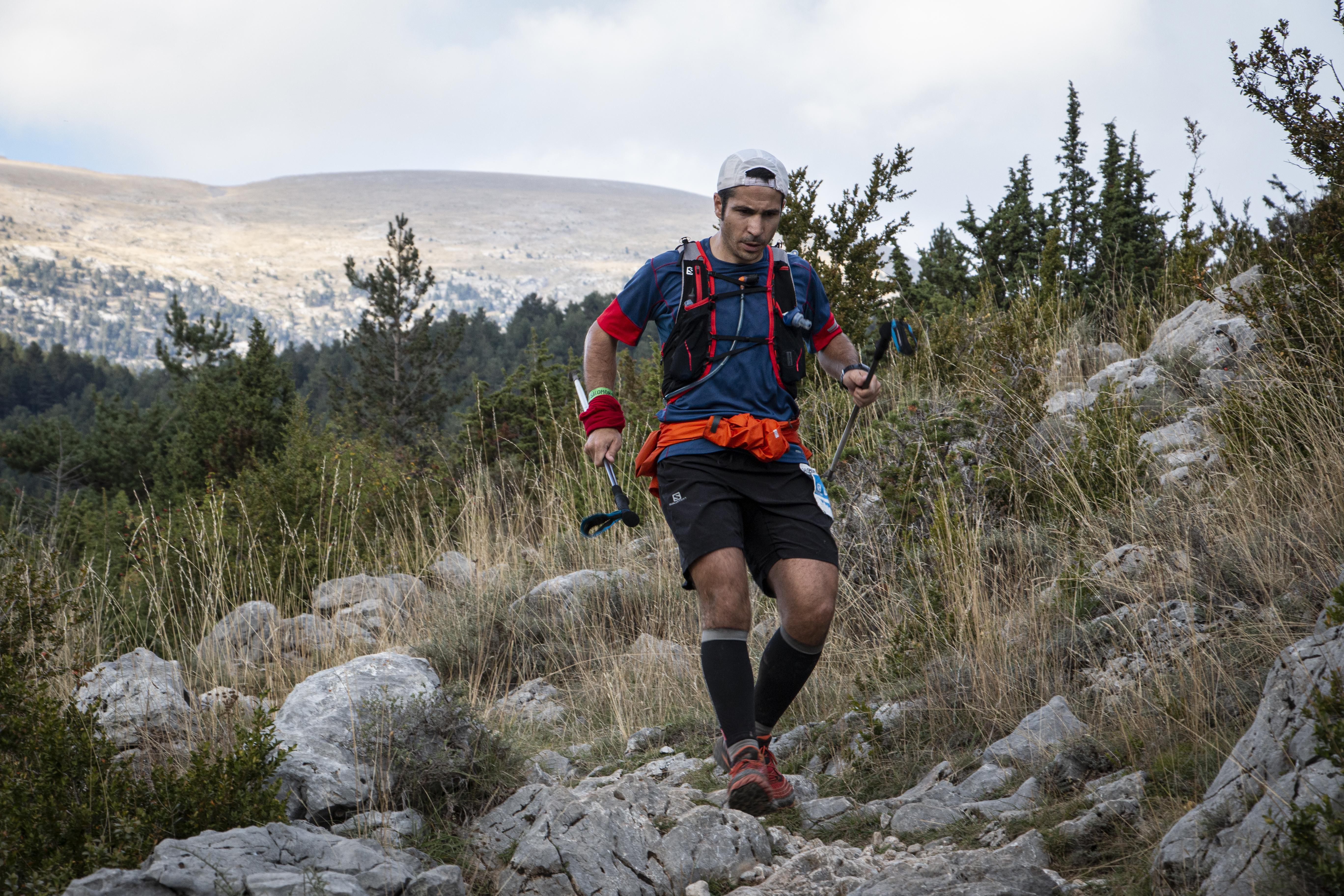 L'Ultra Pirineu 2021 té una distància de 100km. FOTO: Anna E. Puig