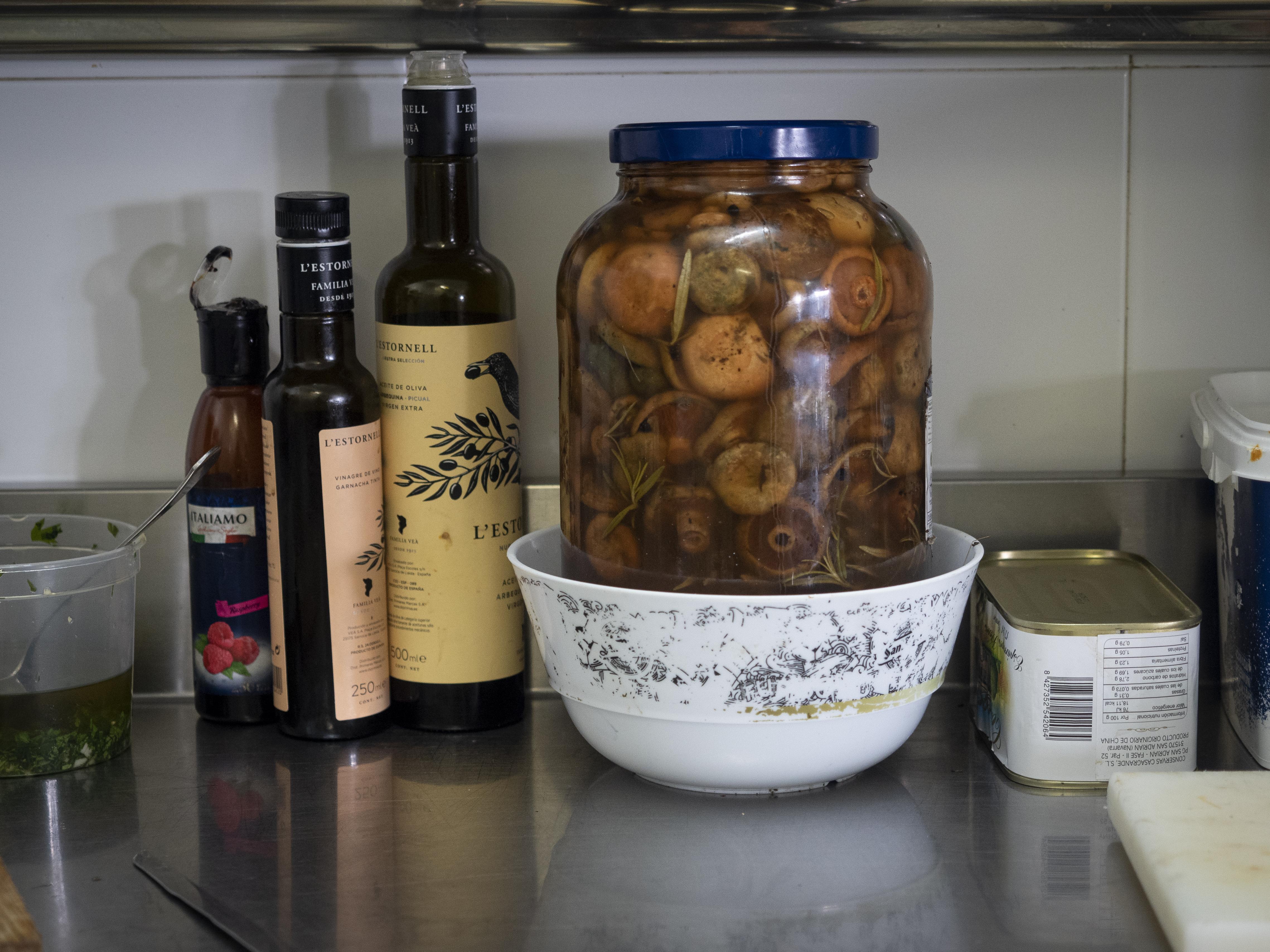Les cuines del Berguedà treballen els bolets de maneres molt diverses. FOTO: Anna E. Puig